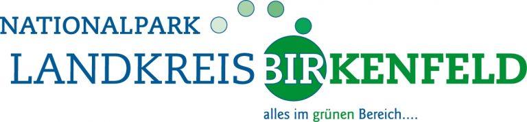 Logo des Nationalpark-Landkreises Birkenfeld mit 4 kleinen und einem großen Kreis