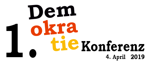 1. Demokratiekonferenz 2019, am 4. April