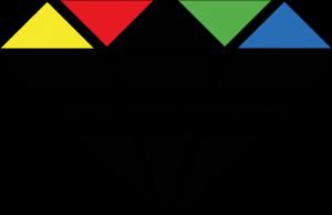 Logo des Jugendfolds Birkenfeld, ein stilisierter Diamant mit Schriftzug